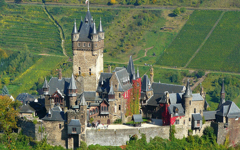 Besuch der Reichsburg Cochem