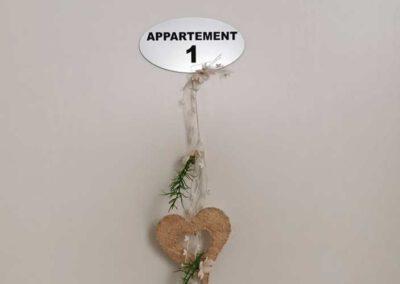 Appartement Tür